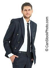 portrait of confident business man. - portrait of confident...