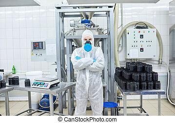 Portrait of Confident Factory Worker