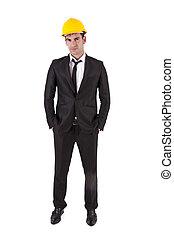 portrait of construction manager