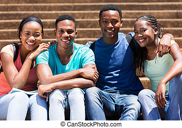 african american university students