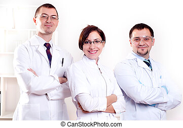 portrait of doctors