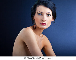 Portrait of elegant beautiful woman