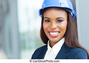 female african architect