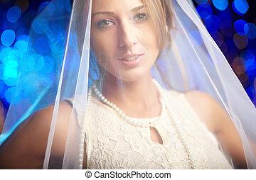 Portrait of fiancee