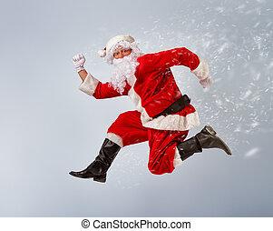 Santa Claus - Portrait of funny Santa Claus.