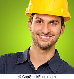 Portrait Of Happy Architect