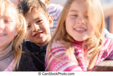 Portrait Of Happy Children's