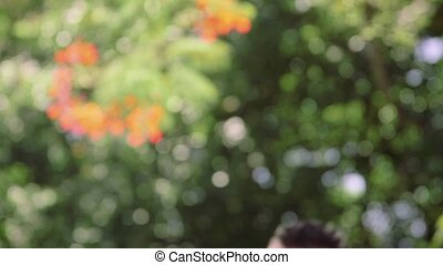 Portrait of happy male photographer - Portrait of young man...