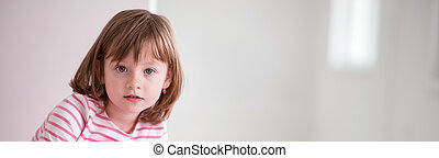 happy smiling child - portrait of happy smiling child at...
