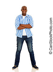 young african american man