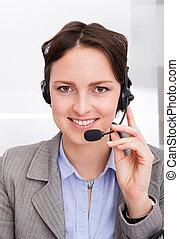 Female Telephone Operator