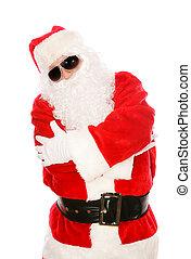 Portrait of Hip Hop Santa