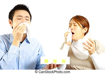 Couple suffers from allergic