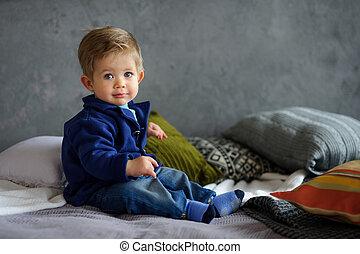 Portrait of little boy.