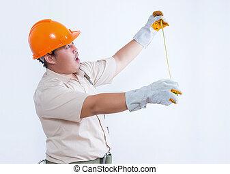 Portrait of male mechanic