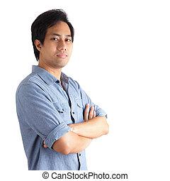 Portrait of man standing