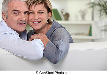 portrait of mature couple