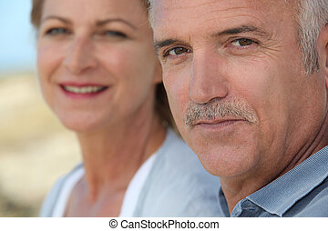 Portrait of mature people