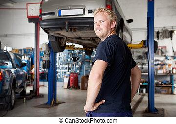 Portrait of Mechanic