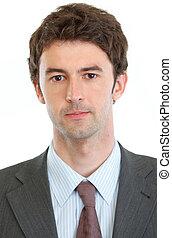 Portrait of modern businessman