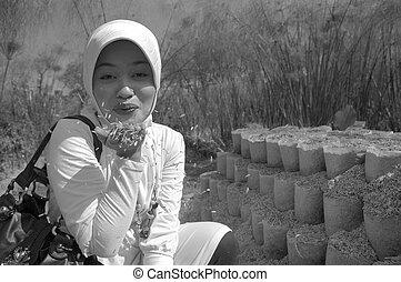 moslem lady