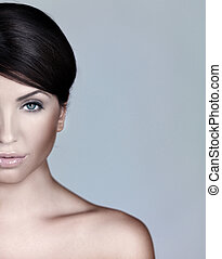 Portrait of Natural Beauty - Portrait of beautiful woman, ...