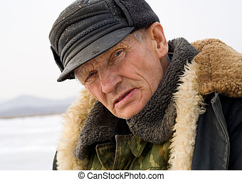 Portrait of Old Man 1