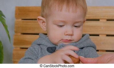 Portrait of pensive little boy