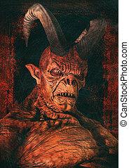Portrait of Satan