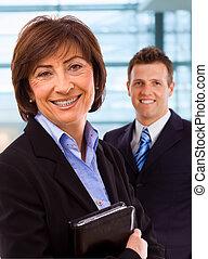 Portrait of senior businesswoman