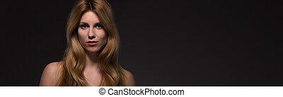 Portrait of sexy woman