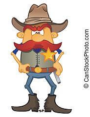 Portrait of sheriff