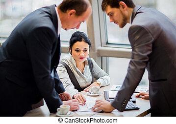 business partners - Portrait of smart business partners...