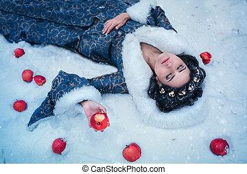 Portrait of Snow White