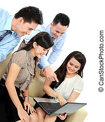 business team discussing