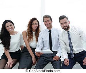 portrait of successful business team - closeup.portrait of...