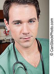 Portrait of surgeon