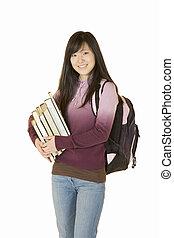 Portrait of teen - Model Release 363 Portrait of Asian tenn...