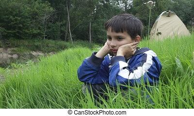 Portrait of the boy