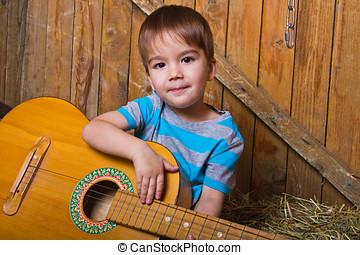 portrait of the child