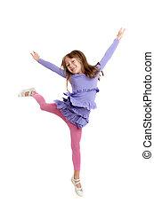 girl in a jump