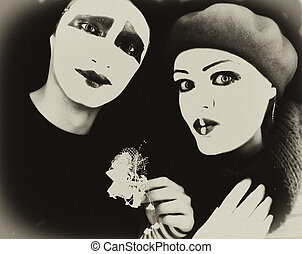 Portrait of the mimes