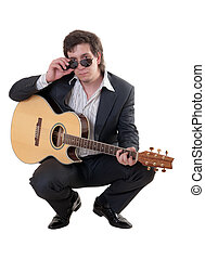 Portrait of the musician