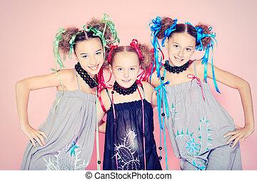 three beautiful