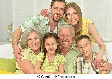Portrait of three generations