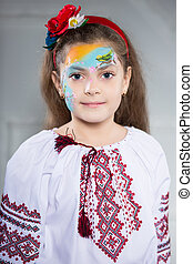 Portrait of Ukrainian girl
