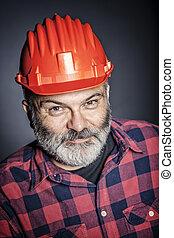 portrait of worker