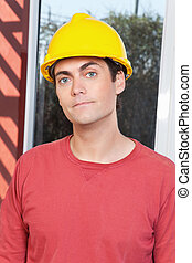 Portrait of young architect