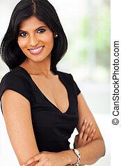 pretty indian businesswoman