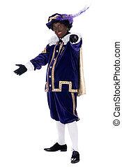 Portrait of Zwarte Piet - Zwarte Piet is a character, part...